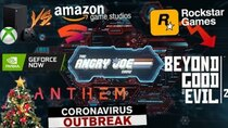 The Angry Joe Show - Episode 35 - AJS News 2/10 - Xbox vs. Amazon/Google, Geforce Now vs Stadia,...