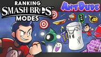 AntDude - Episode 6 - Ranking EVERY Mode in the Super Smash Bros. Series