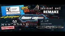 The Angry Joe Show - Episode 83 - AJS News 4/13 - ESRB adds Tag VICTORY!?, Resident Evil 4 Remake?,...