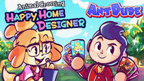 AntDude - Episode 8 - Animal Crossing: Happy Home Designer | Build The Home Of Their...