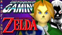 Did You Know Gaming? - Episode 354 - Obscure Zelda Facts (BotW, TP, MM, OoT)