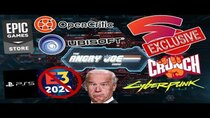 The Angry Joe Show - Episode 16 - AJS News - Stadia Plans Exclusives, PS5 Skips E3, Epic Games...