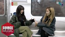 GFRIEND: G-ING - Episode 28 - Behind the scenes of 'Crossroads' M/V shooting on the subway