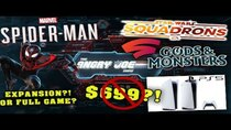 The Angry Joe Show - Episode 119 - AJS News - Spider-Man Expansion or Full Game?, Stadia Leaks Gods...