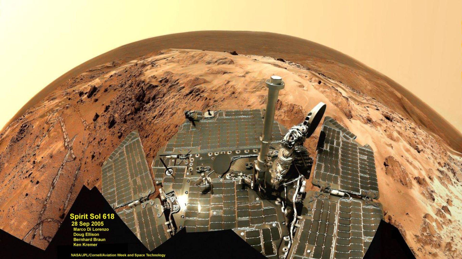 mars rover spirit - HD1920×1080