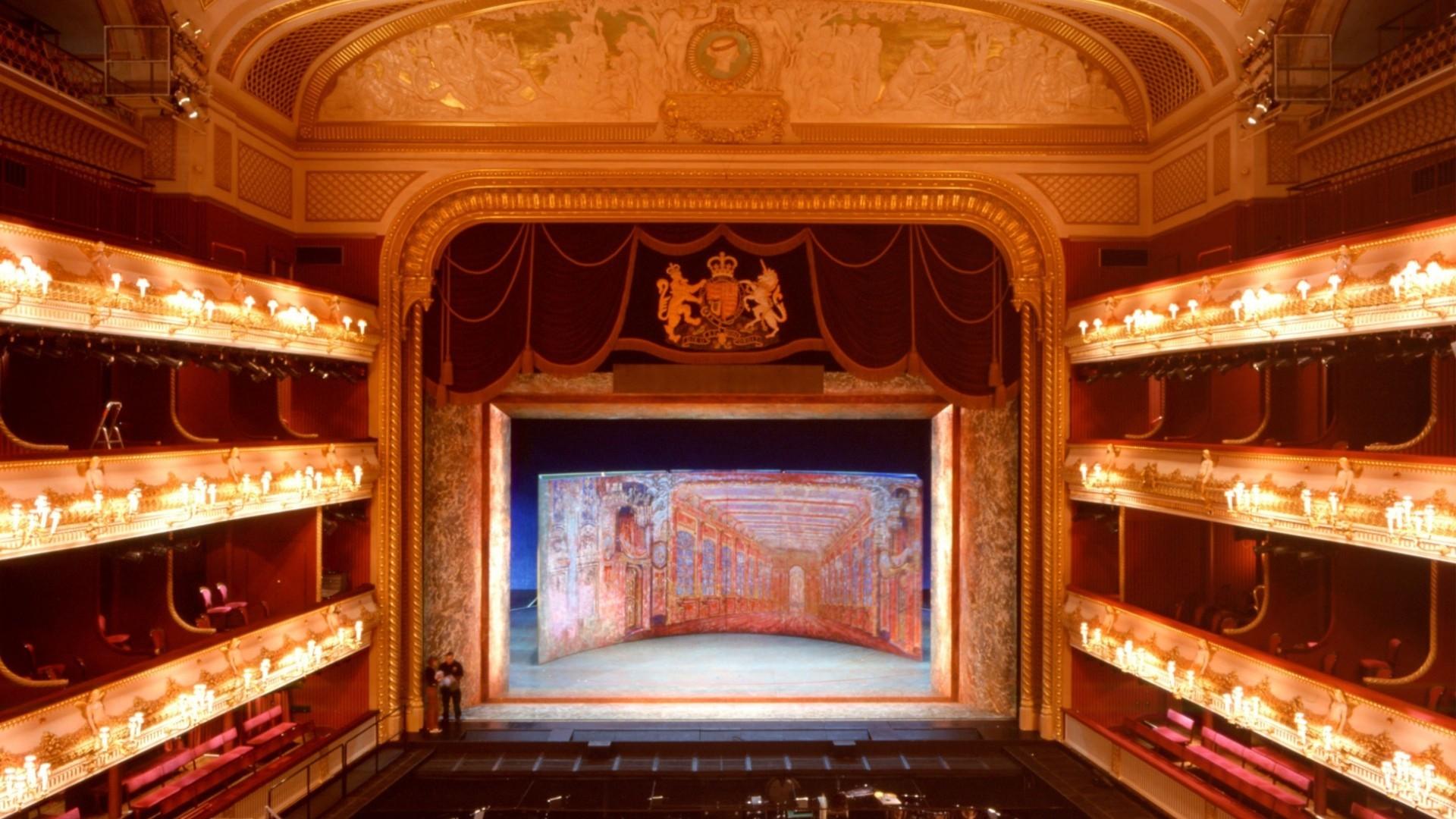 Королевский оперный театр - реализованные проекты - сценичес.
