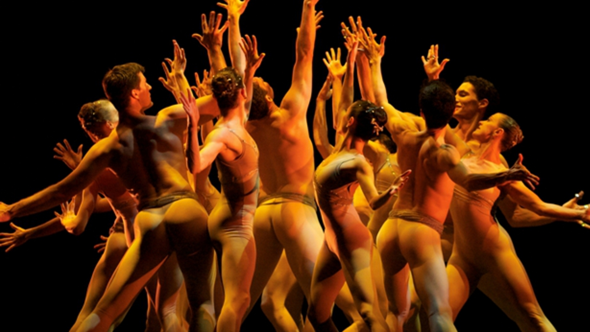 Naked dance group image