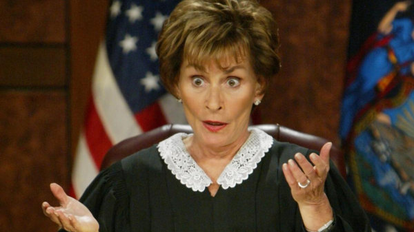 Judge Judy - S23E234 - Bakersfield Boyfriend Trouble!; Double Lane-Change for a Donut?!