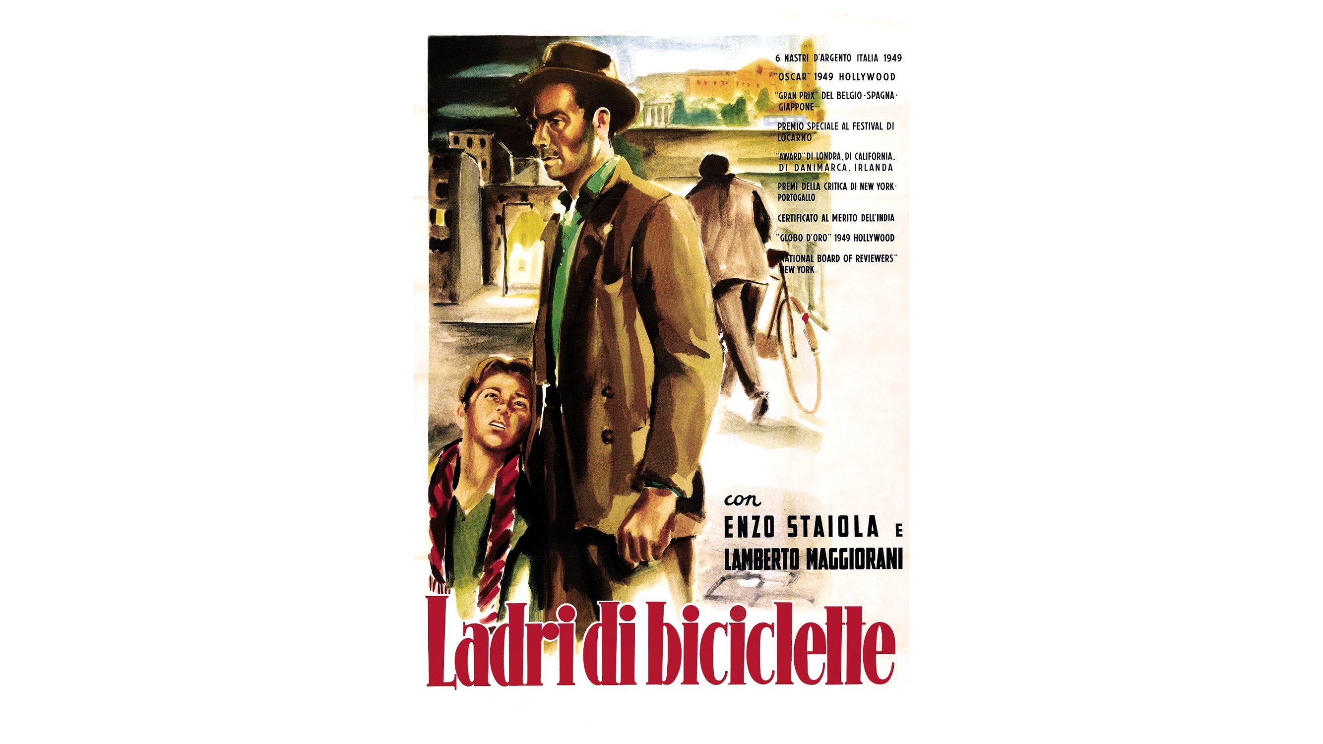 a literary analysis of the bicycle thief by vittorio de sica Space odyssey this film has thesis  film institute pays tribute to 'the bicycle thief': de sica's  2009/01/15/shoeshine-sciuscia-vittorio-de-sica-1946.