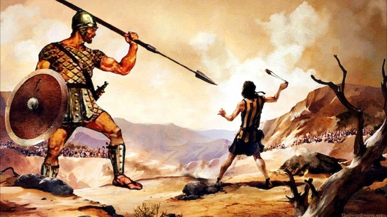 """the slayer of goliath david as one of the greatest heroes of ancient history Before goliath, david faithfully protected sheep one of the greatest blessings in my life is to be him to pour out his wisdom on being """"a giant slayer."""