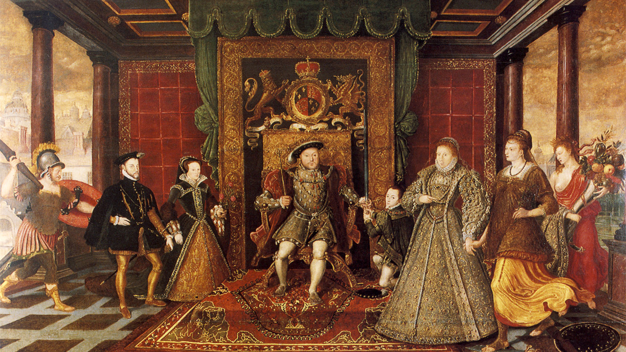 a history of the change of church from the time of henry viii to elizabeth i