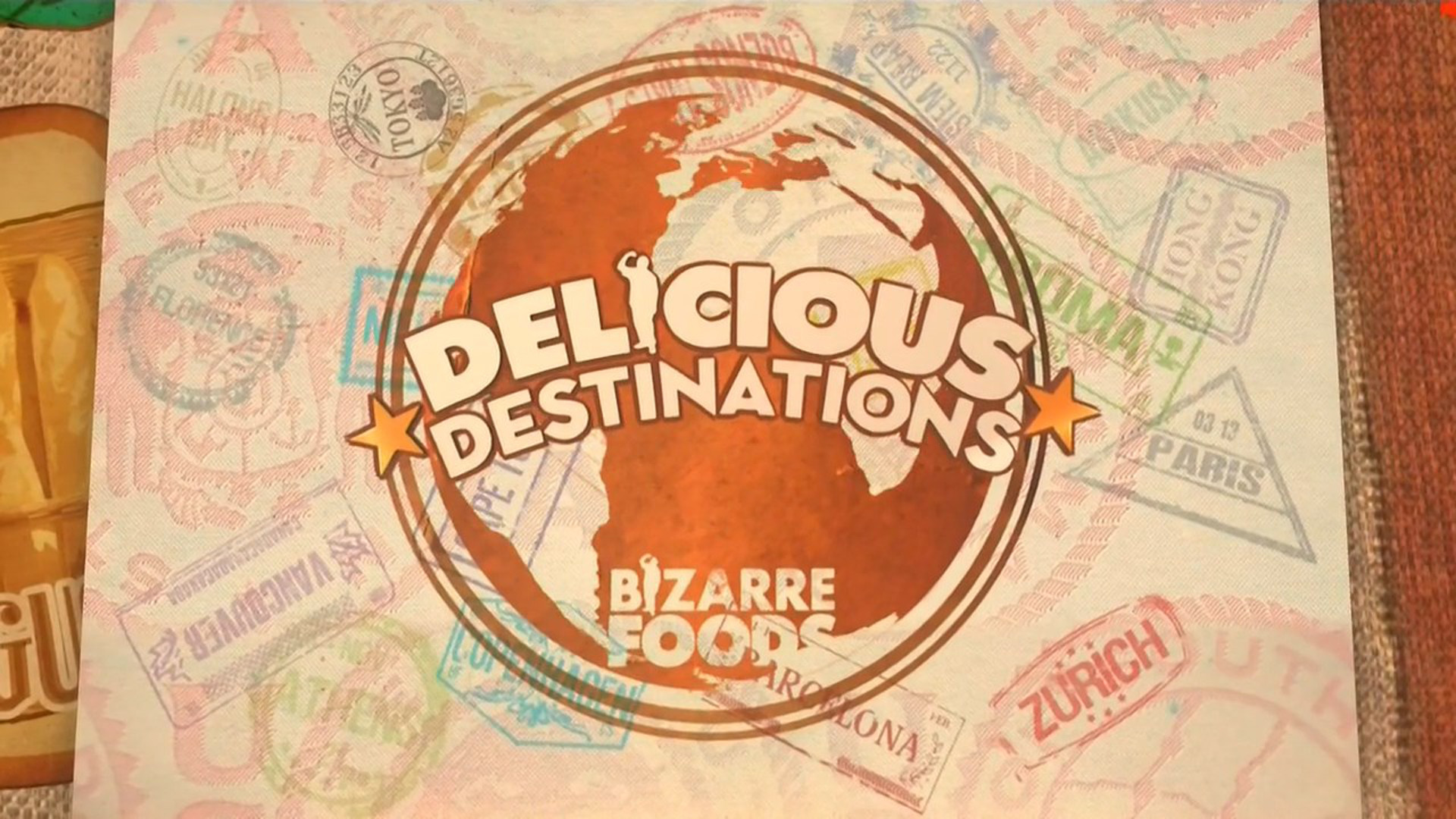 Bizarre Foods Delicious Destinations Tv Series 2015 Now