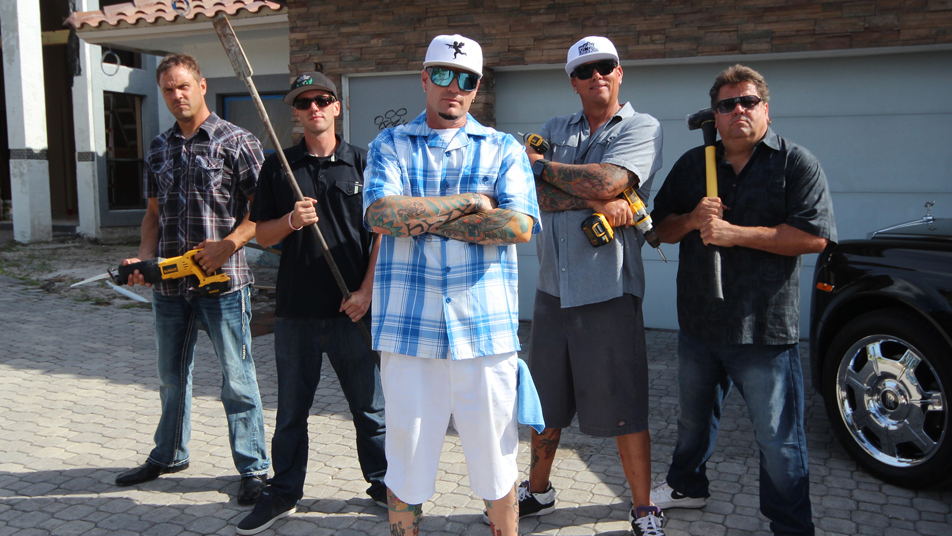 The vanilla ice project Better homes and gardens episode last night