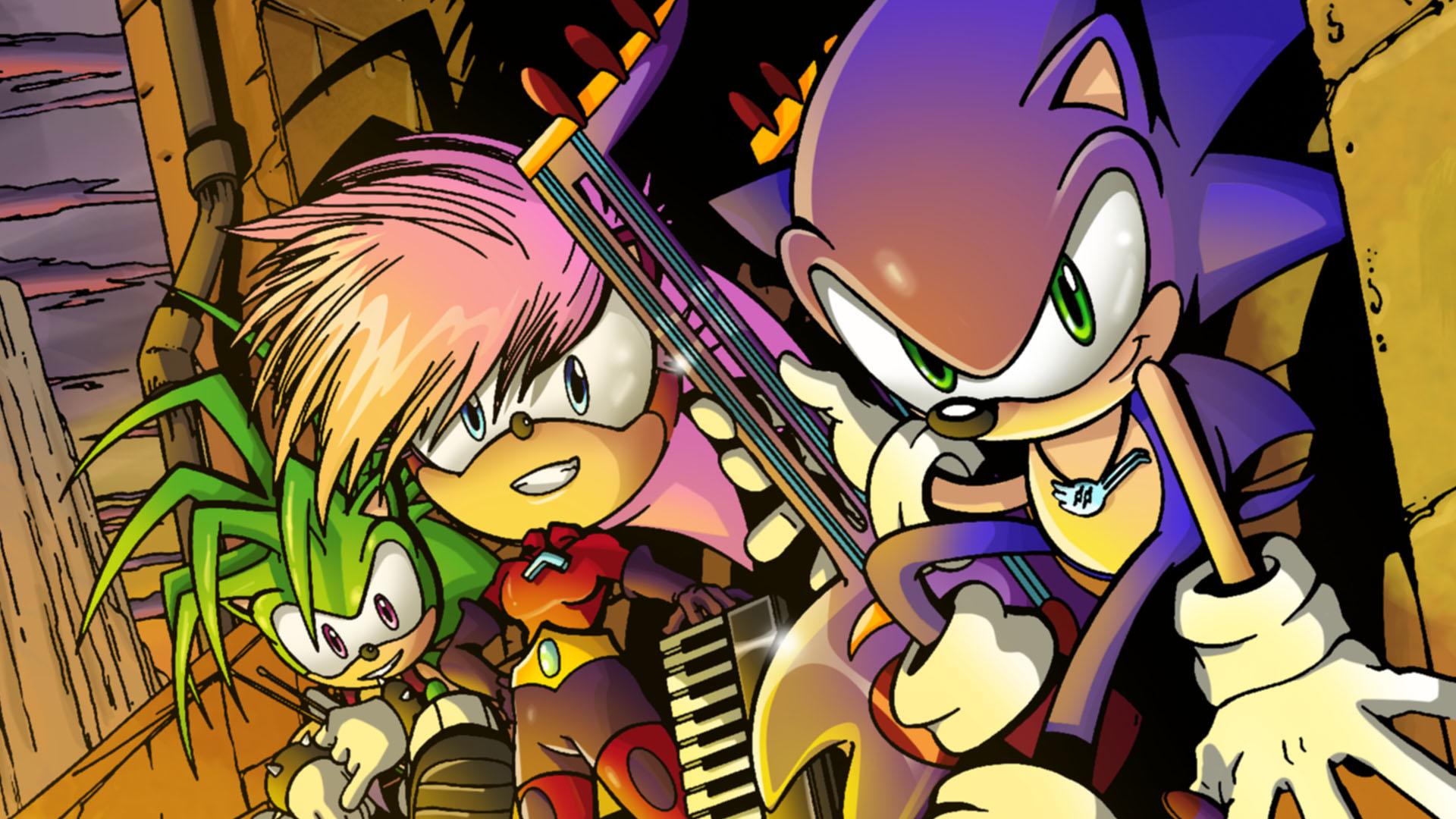 Sonic the Hedgehog (Sonic Underground)   Sonic News ...  Sonic Underground