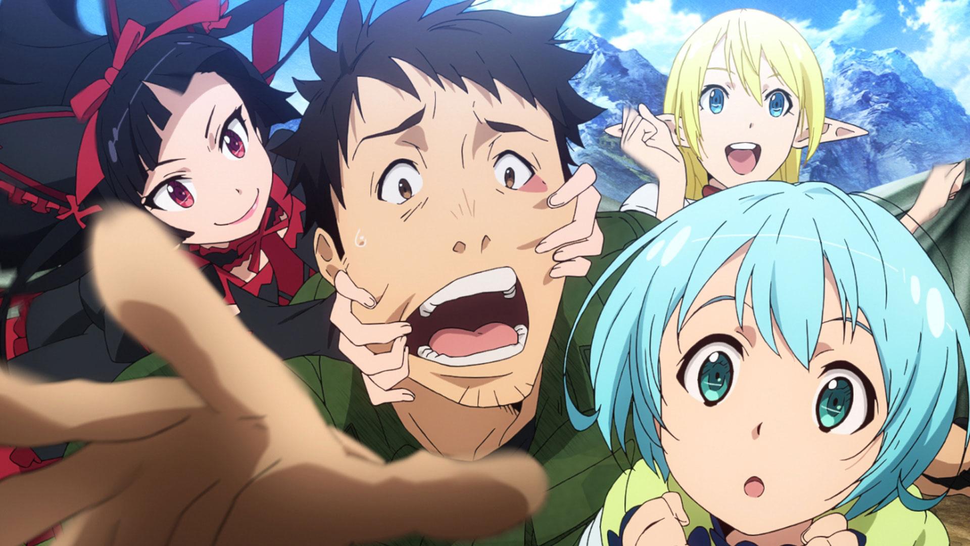 Gate Jieitai Kanochi Nite Kaku Tatakaeri Anime Tv 2015