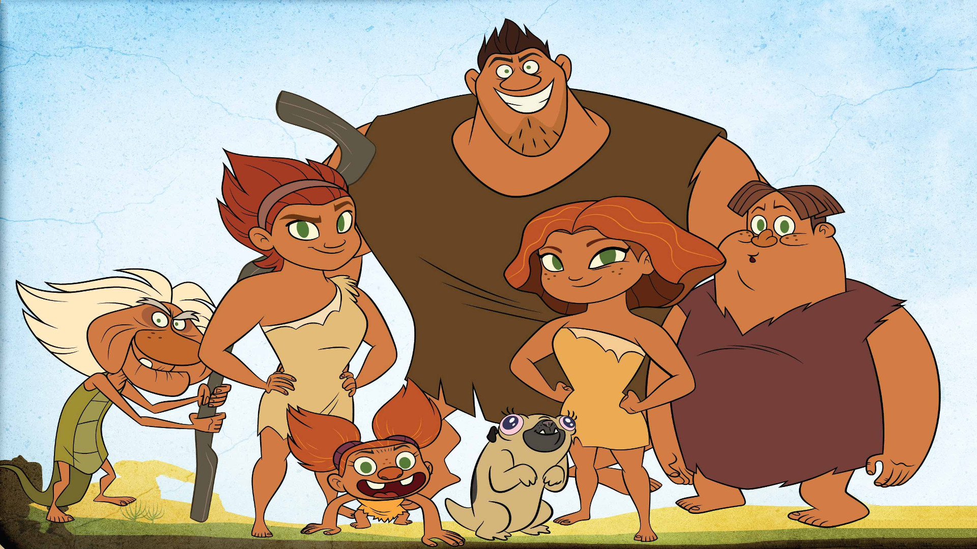 Dawn Of The Croods (TV Series 2015
