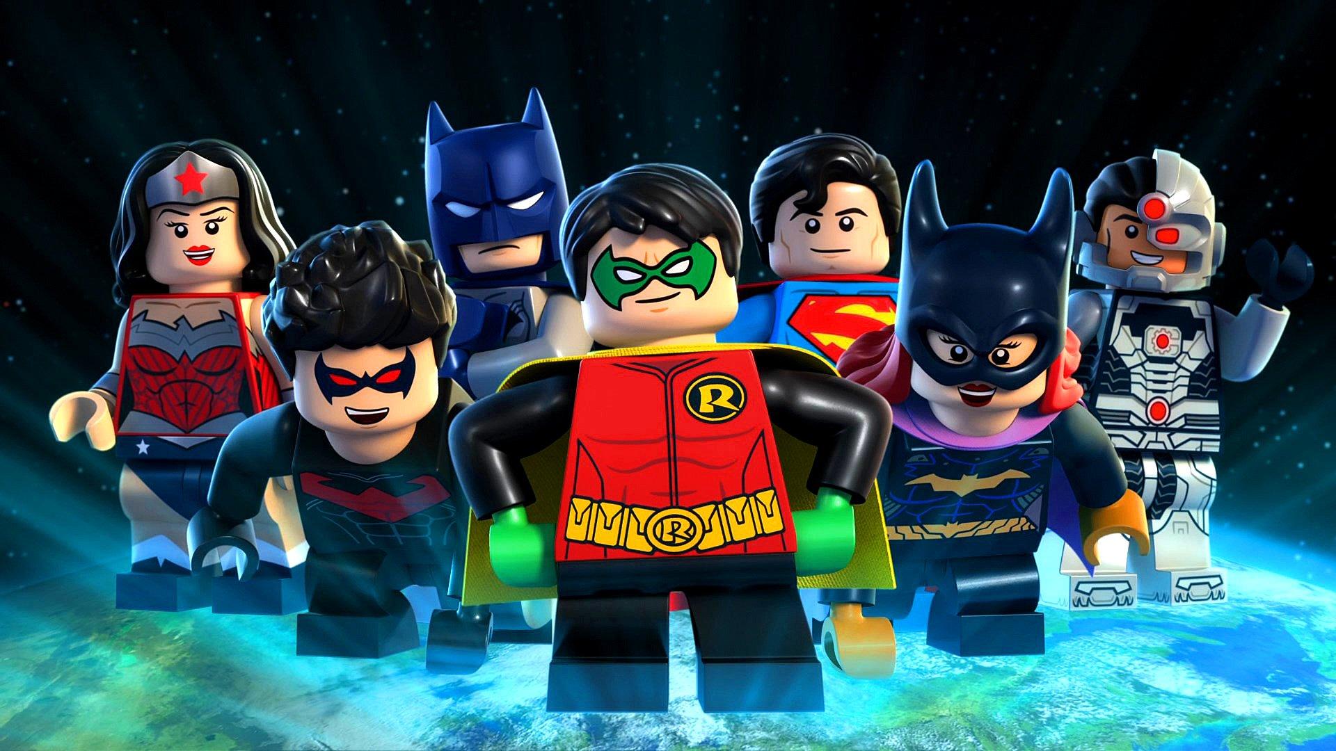 картинки про лего супергероев зарабатывала