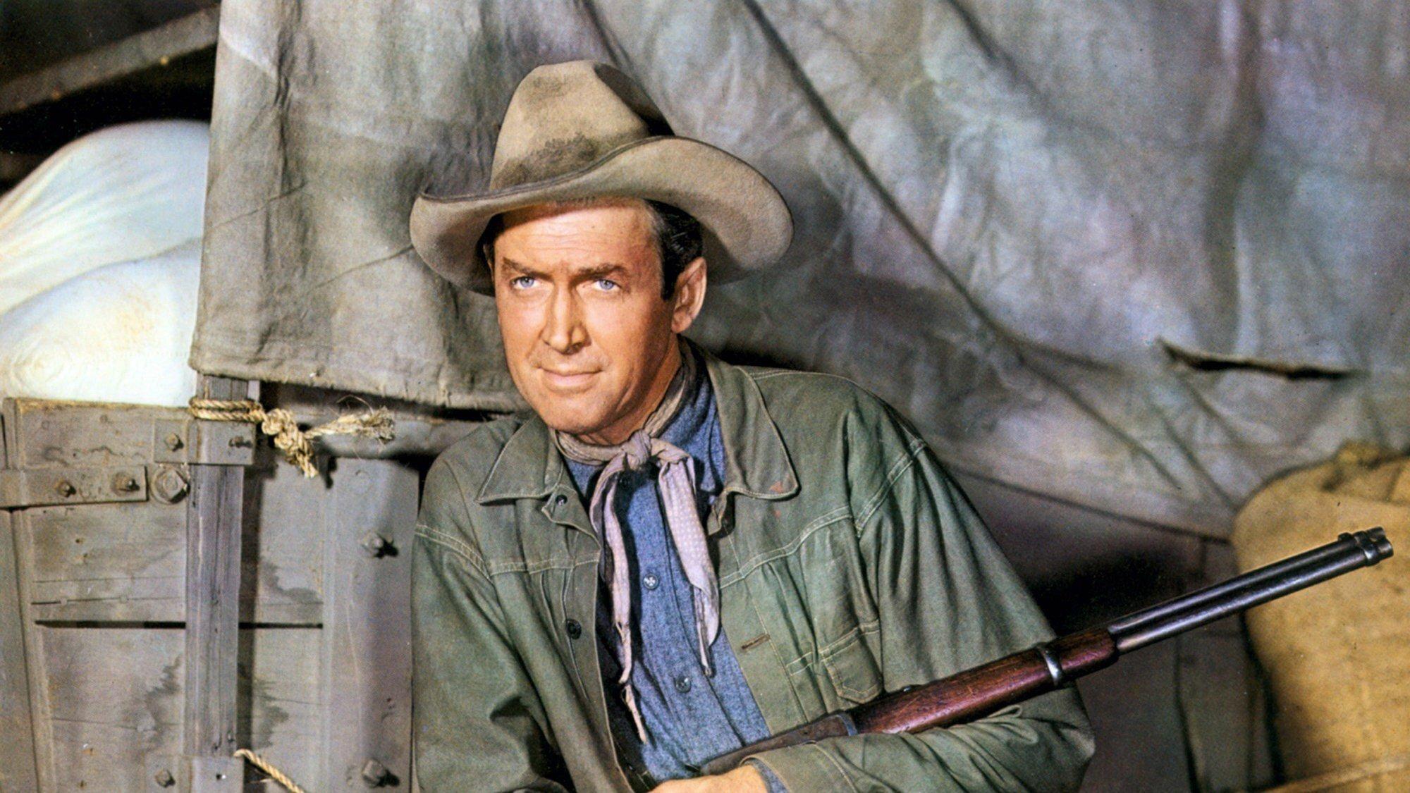 jimmy stewart westerns - 736×561