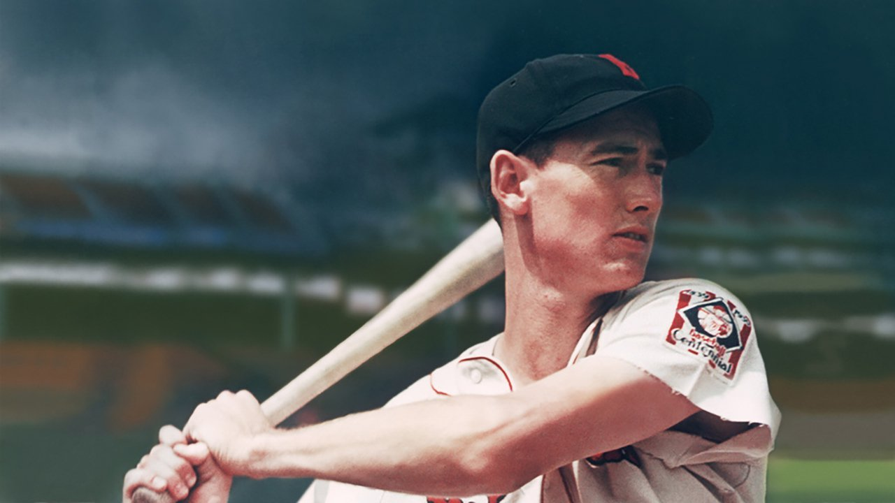 a look into career of ted williams the baseball player