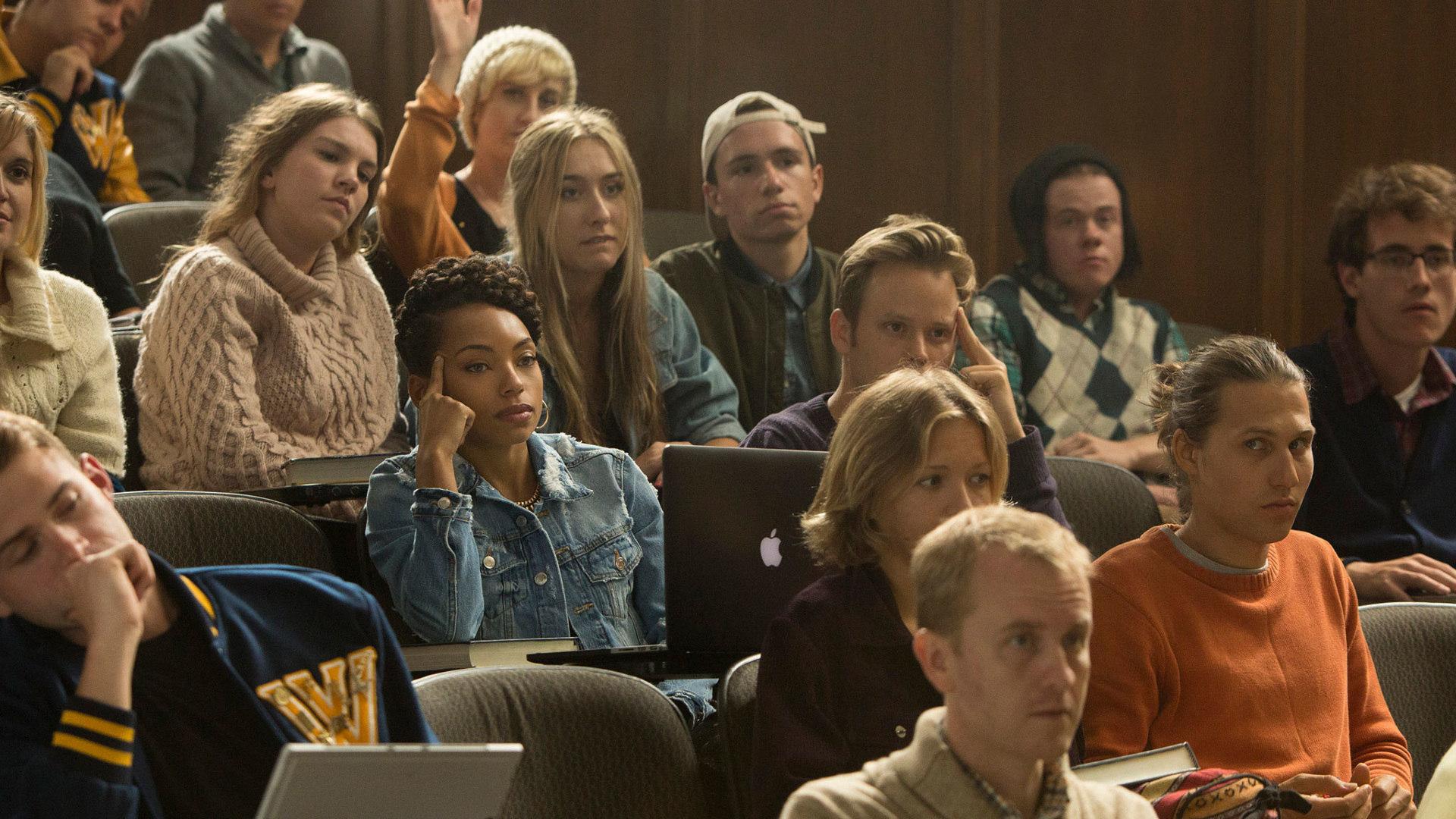 the interaction of different college groups in dear white people