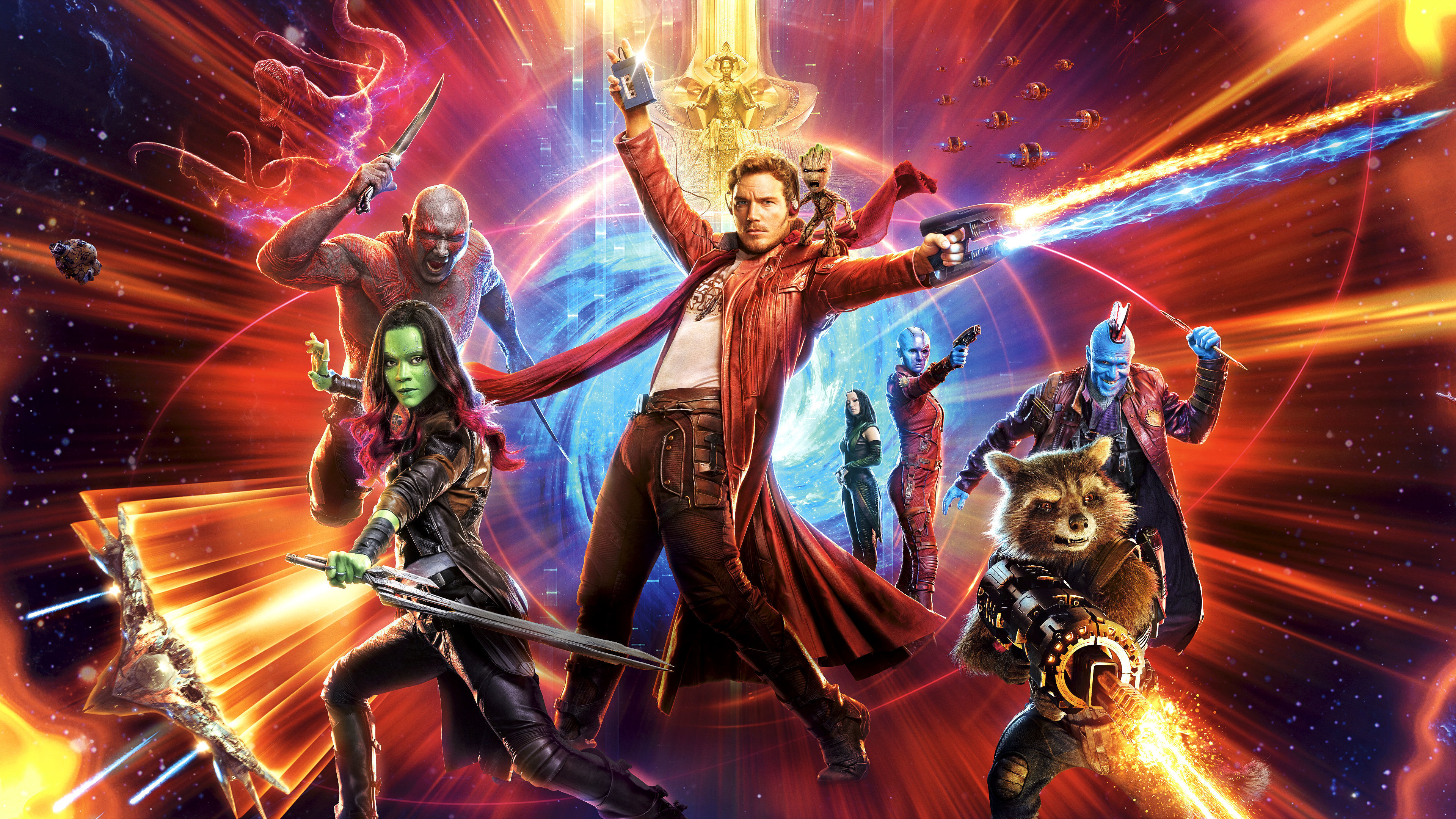 The game will immerse players in a dynamic challenging and galactic pinball environment where StarLord Rocket Gamora Drax the Destroyer and Groot battle Ronan