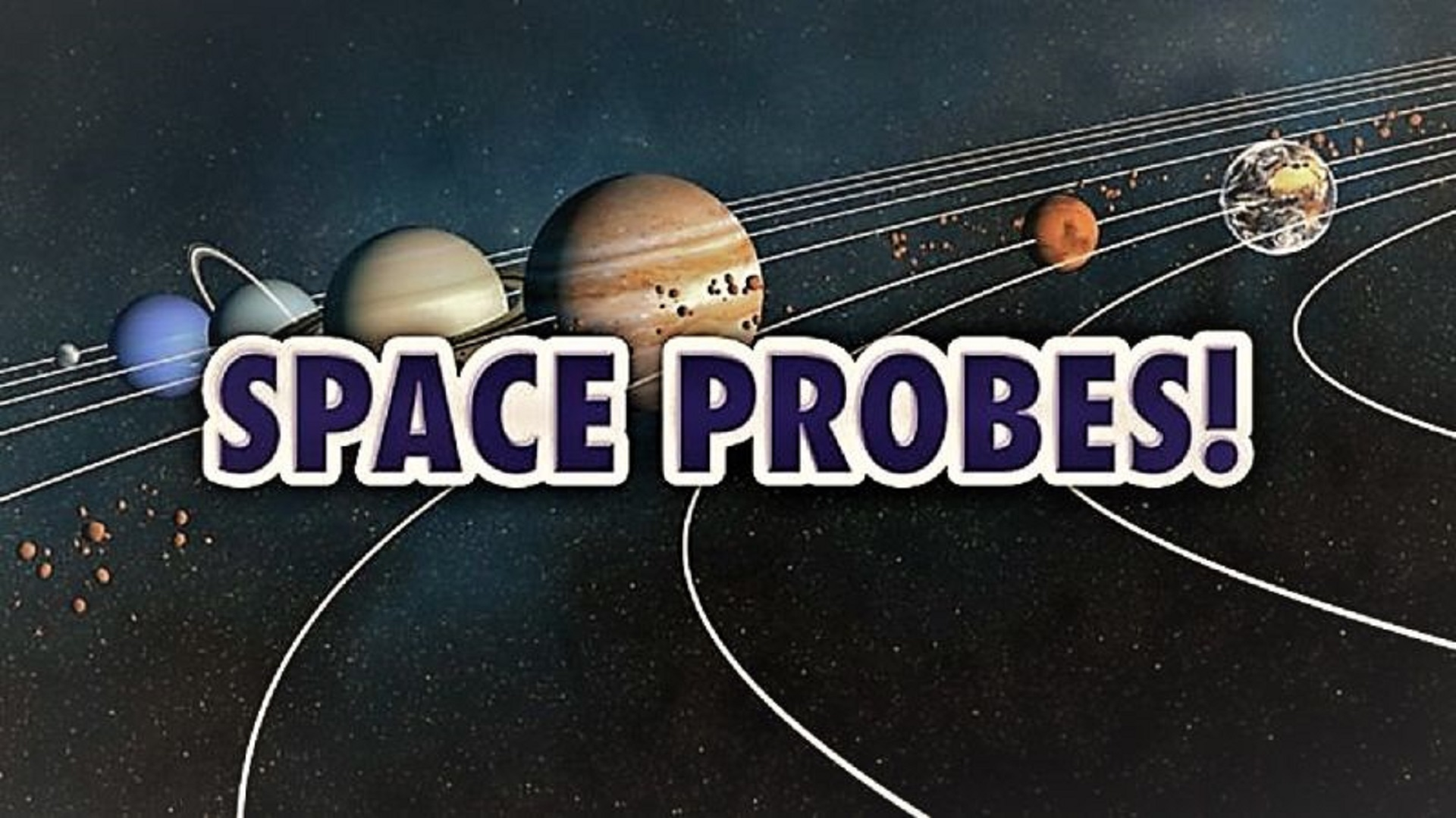 space probes list - HD 1920×1080