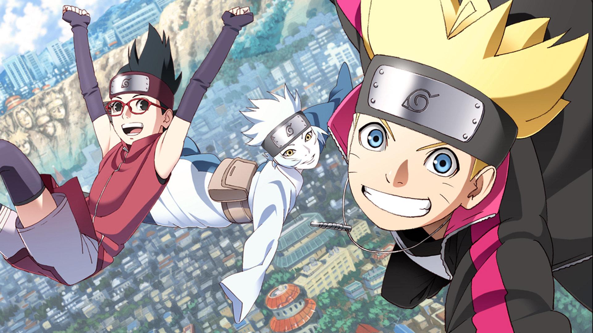Boruto: Naruto Next Generations (Anime TV 2017 - Now)