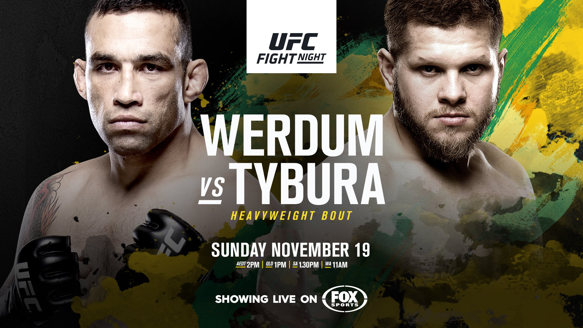 Event information results video and fighter information for UFC Fight Night