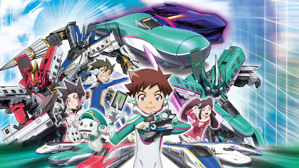 Shinkansen Henkei Robo Shinkalion the Animation - Ep. 55 - Super Super Super Speed!! Black Shinkalion Crimson