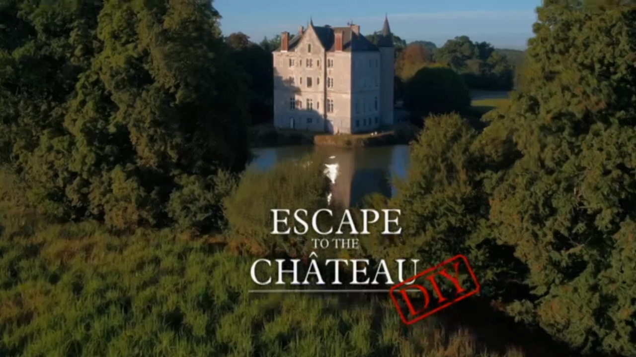 escape to the chateau diy episodes tv series 2018 now. Black Bedroom Furniture Sets. Home Design Ideas