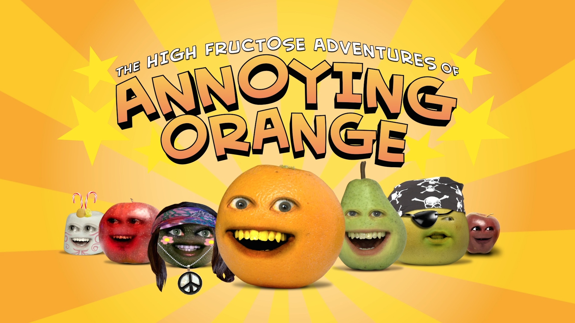 the high fructose adventures of annoying orange tv series