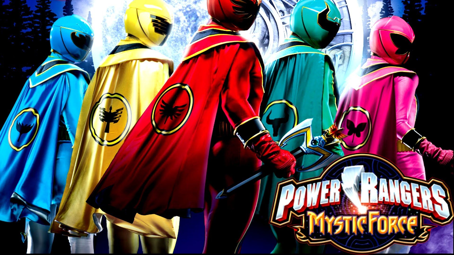 Power Rangers Mystic Force Tv Series 2006