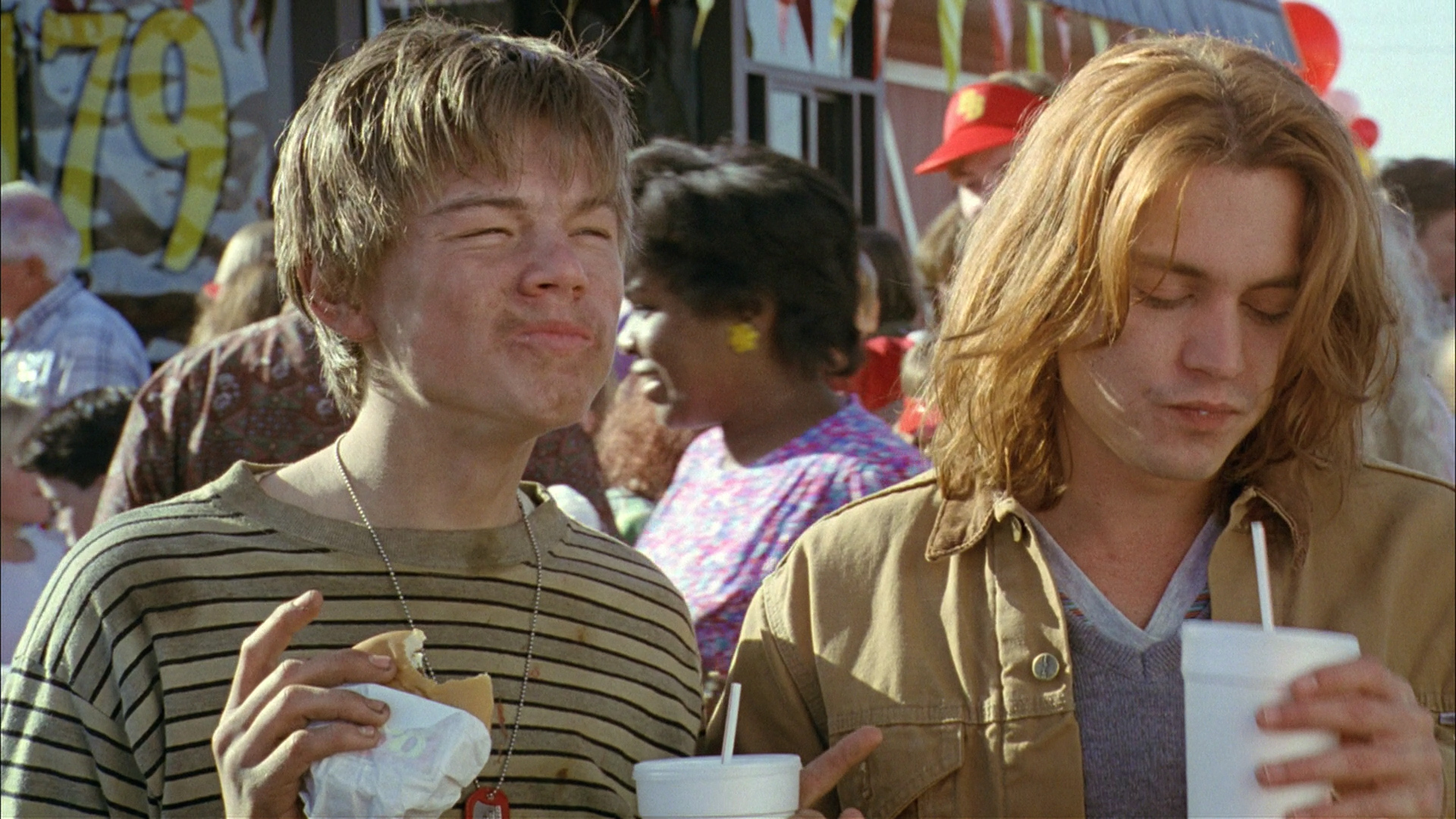 a lesson in life in the movie whats eating gilbert grape What's eating gilbert grape (1993) what's eating gibert grape is a beautifully shot movie of tenderness  something new is eating gilbert grape.