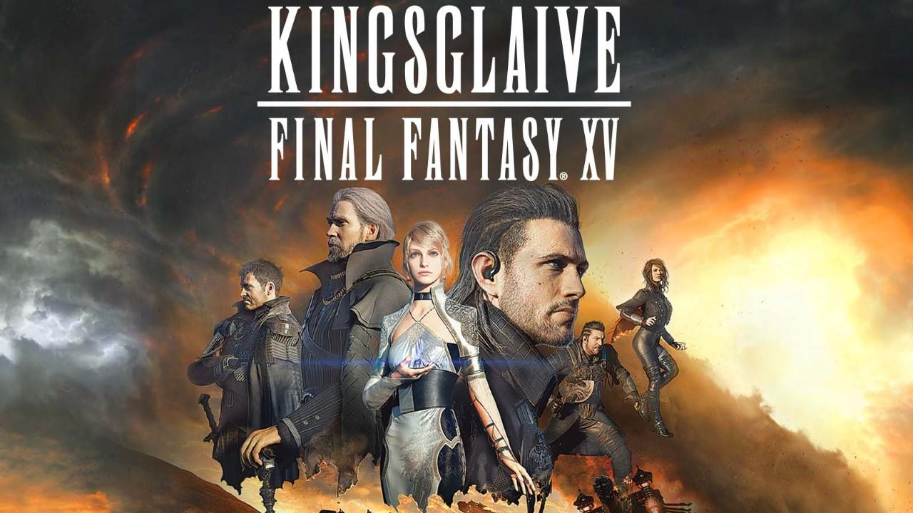 Kingsglaive Final Fantasy Xv Anime Movie 2016