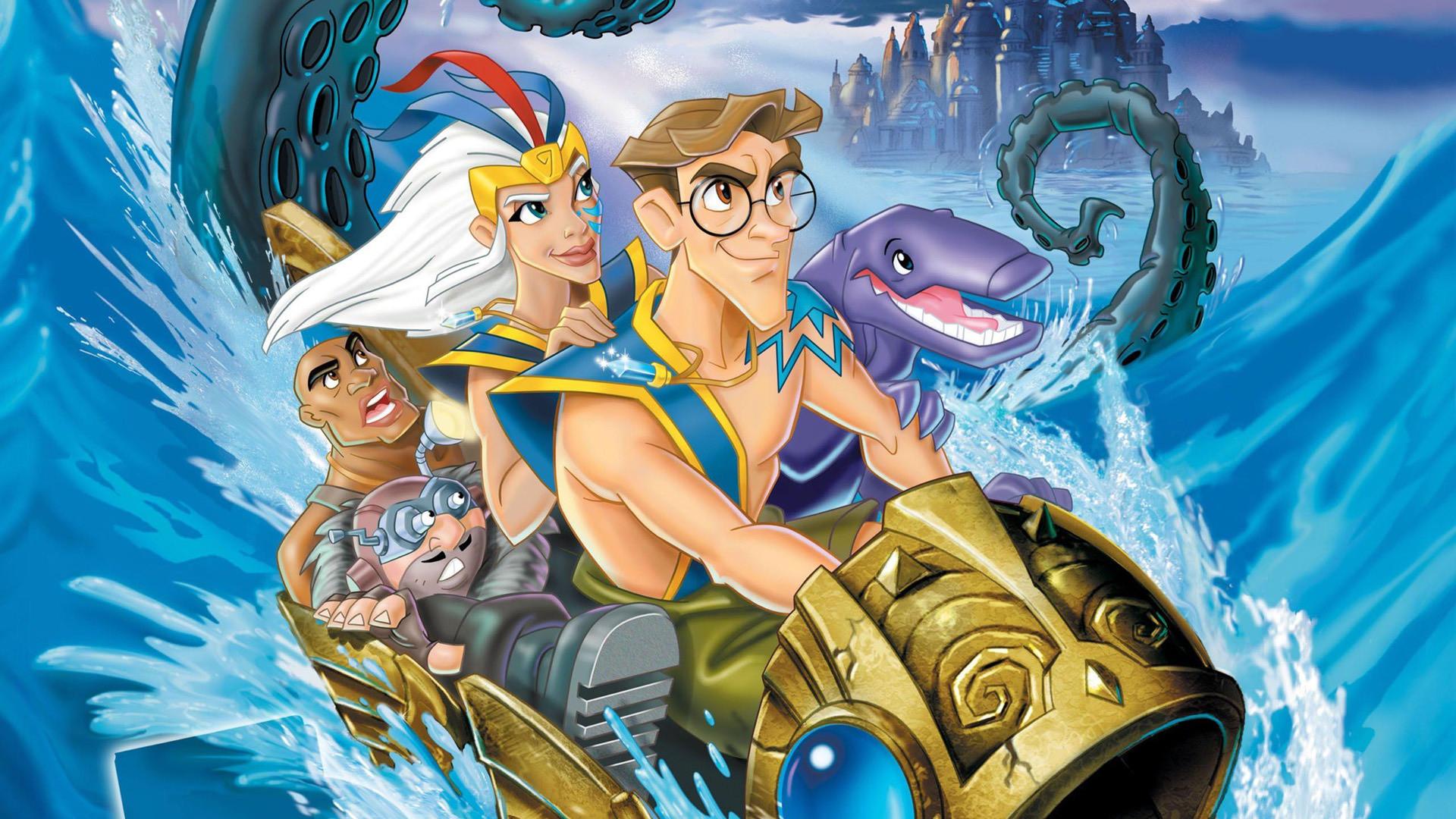 Мультфильм Атлантида Затерянный мир смотреть онлайн