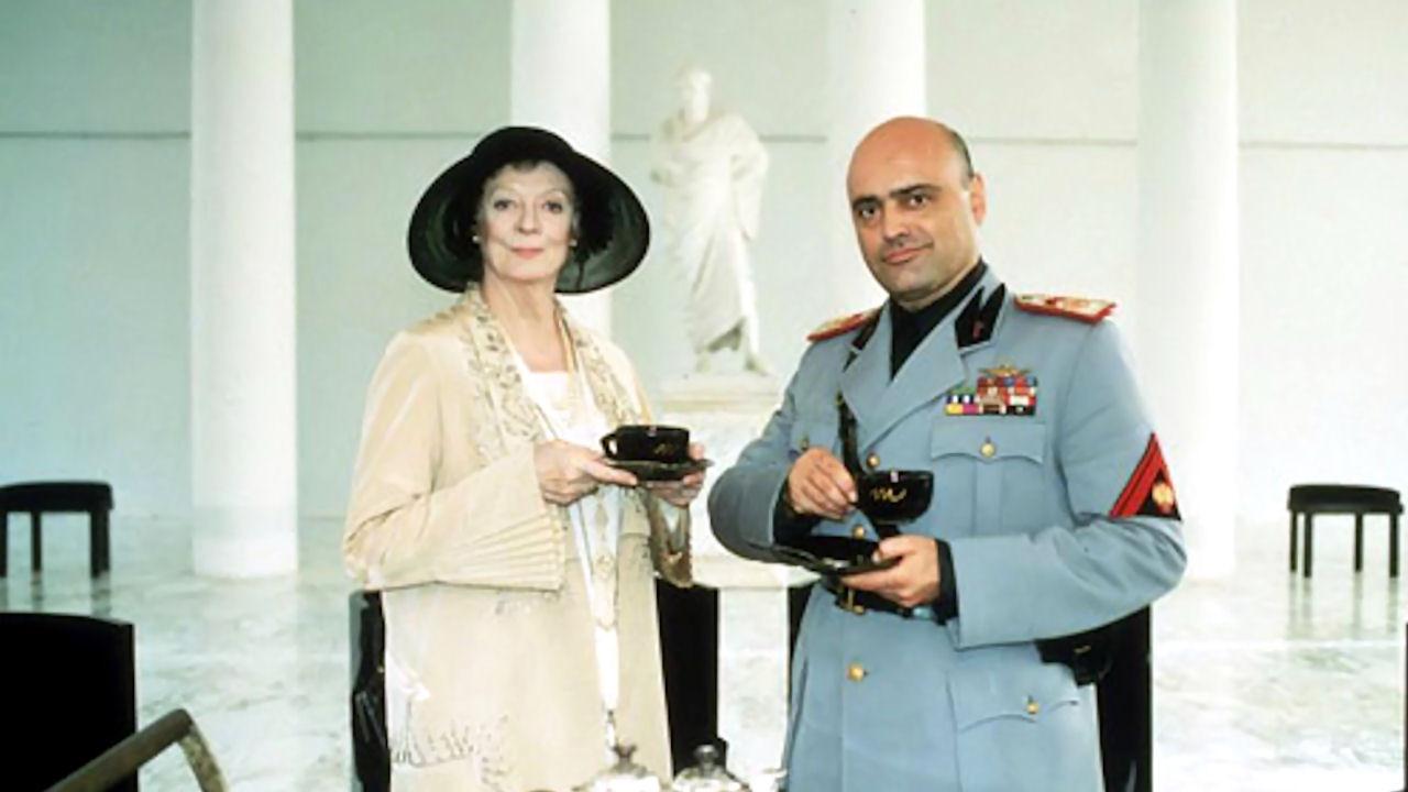 Чай с муссолини  tea with mussolini 1999
