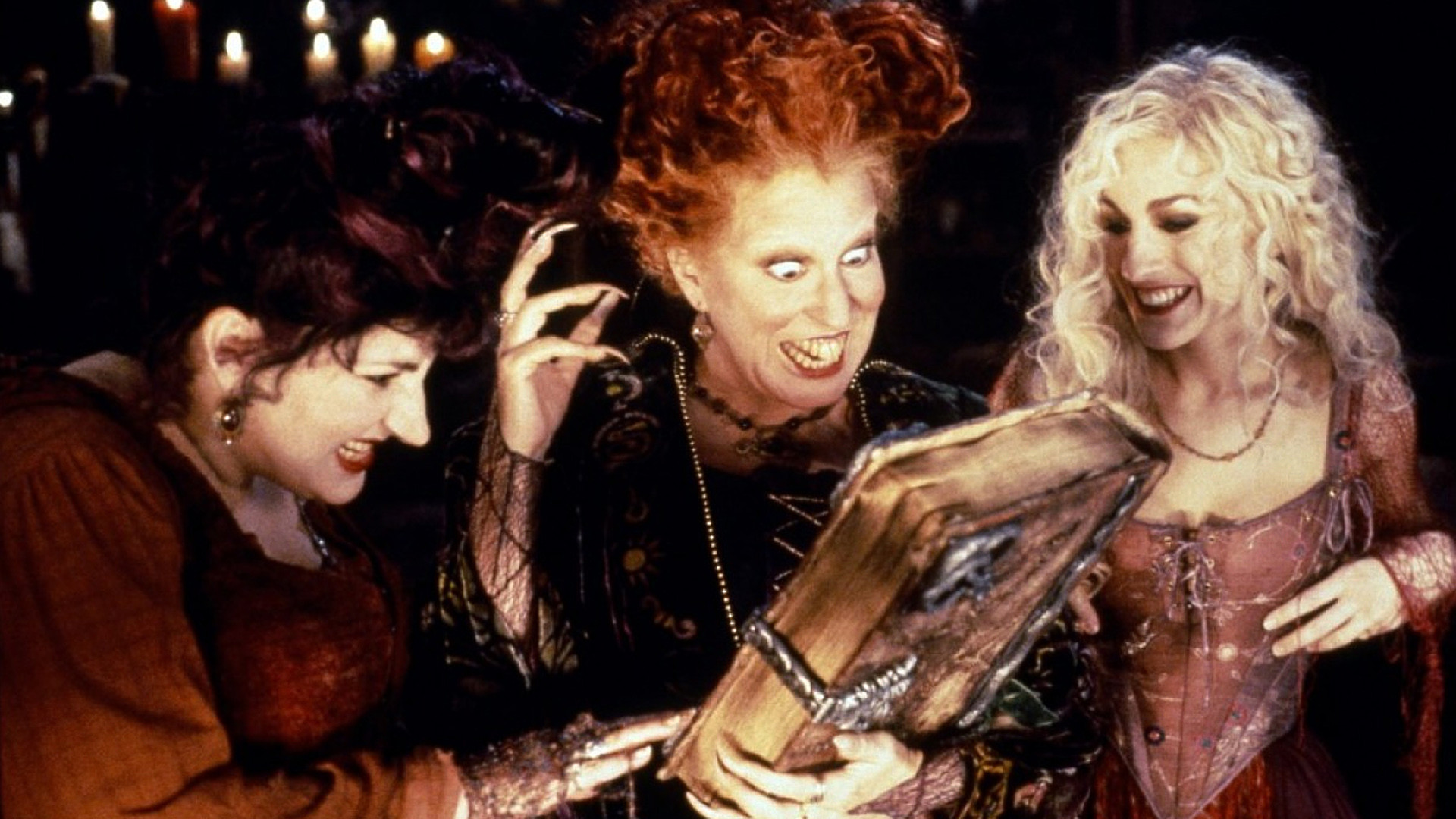Hocus Pocus is a 1993 American comedy horror fantasy film directed by Kenny Ortega starring Bette Midler Kathy Najimy and Sarah Jessica Parker written by Neil
