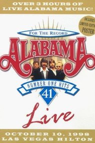 Alabama: 41 Number One Hits Live