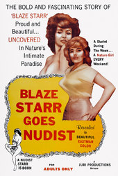 Blaze Starr Goes Nudist