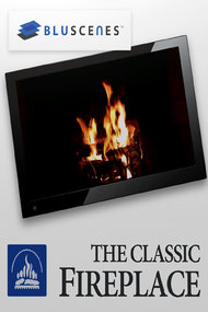 BluScenes: The Classic Fireplace