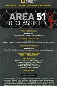 National Geographic: Area 51 Declassified