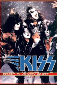 Kiss [1977] Live at Cobo Hall Detroit