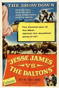 Jesse James vs. the Daltons