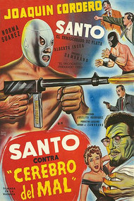 Santo vs. the Evil Brain