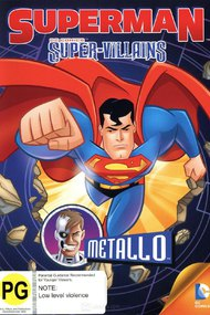 Superman Super Villains : Metallo