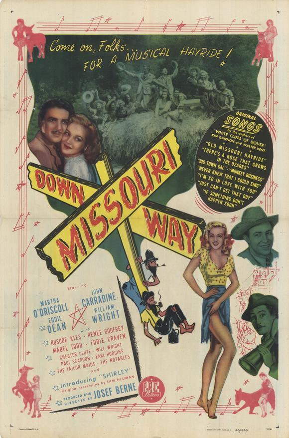 1940s movie showing off missouri mules