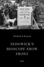 Sedgwick's Bioscope Show Front