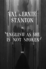 English as She Is Not Spoken