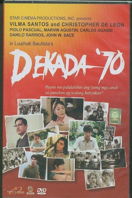 dekada 70 by lualhati bautista essay Dekada 70 : pagsusuri buod ng dekada 70 view more the movie, based on a book by lualhati bautista, shows the various challenges faced by a filipino family then.