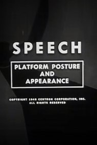 Speech: Platform Posture and Appearance